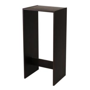 Ståbord i svartbetsad ek